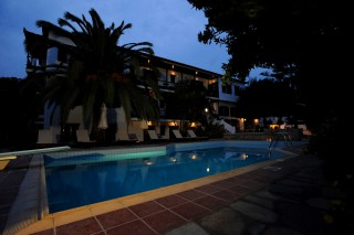 gallery elli hotel pool night